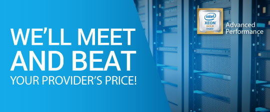 We'll Meet and Beat Your Provider's Price